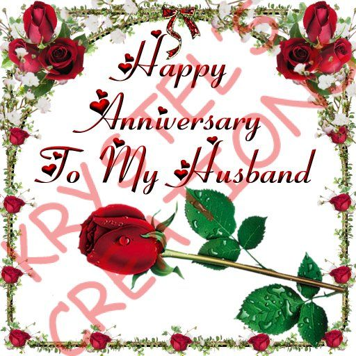 Happy Anniversary To My Husband I Wish You Could Come Down From