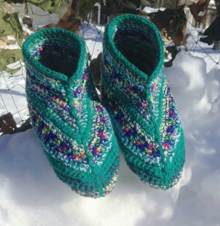 Made to order request for Green Booties.
