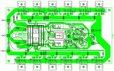 audio amplifier circuit diagram with layout how to make a 1000w power pcb s design in 2019