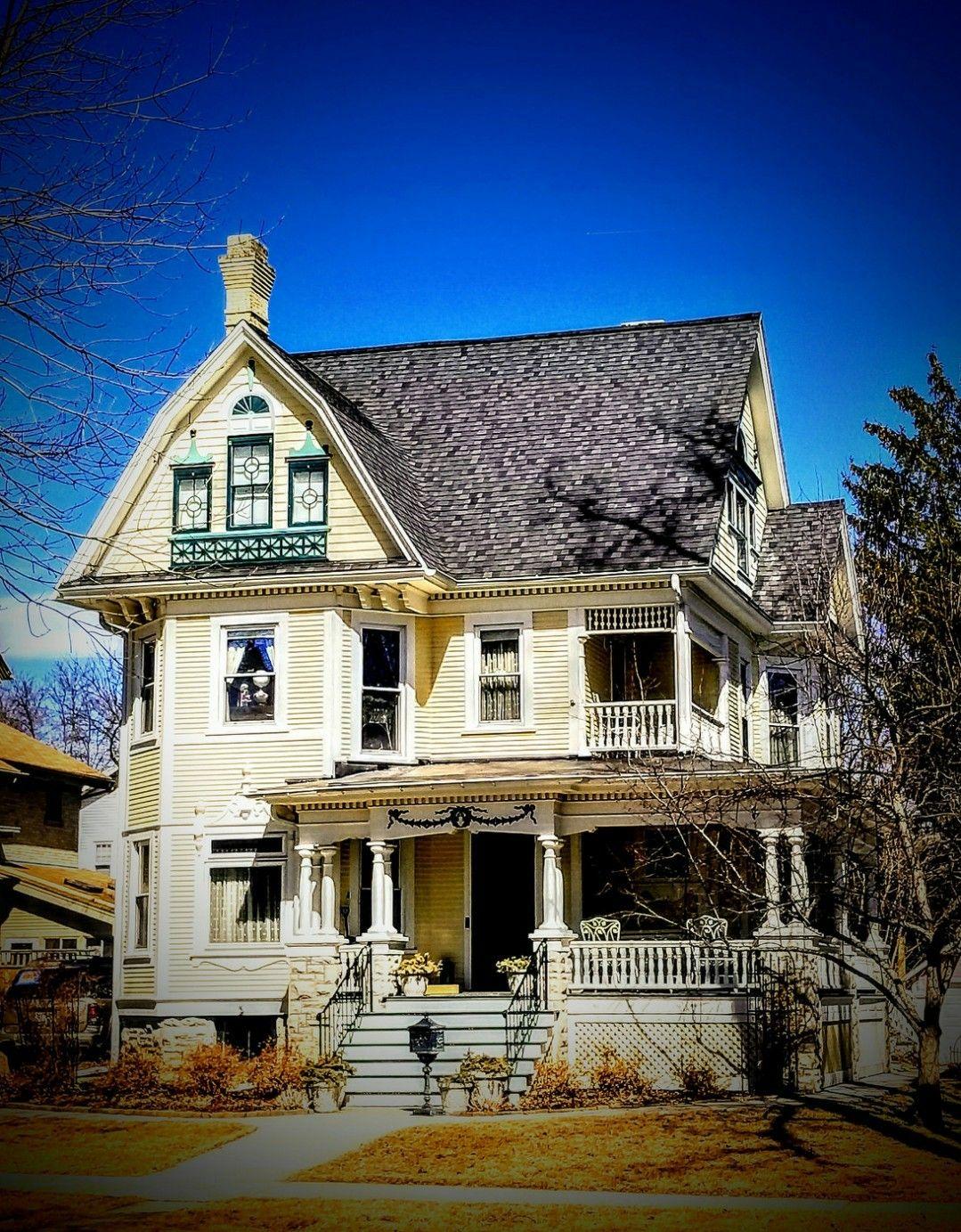 Columbus Ohio | Victorian homes exterior, Victorian homes ...