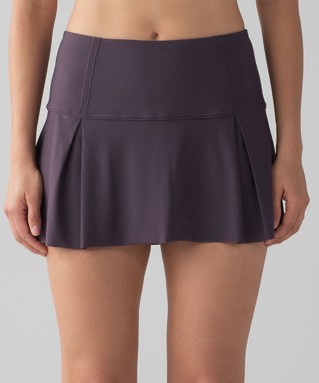 Release Date: 4/2017. Original Price: $68. Color: black currant. We designed this breezy skirt with stretchy built-in shorts so you can go from the trails to the tennis court without slowing down. Fabric is sweat-wicking and four-way stretch