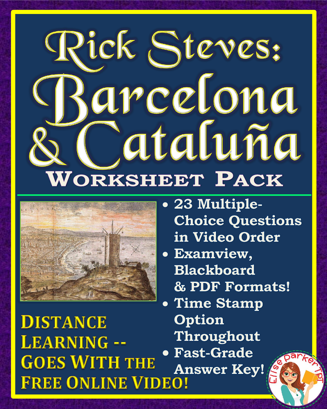 DISTANCE LEARNING Spanish Culture Worksheets: Rick Steves ...