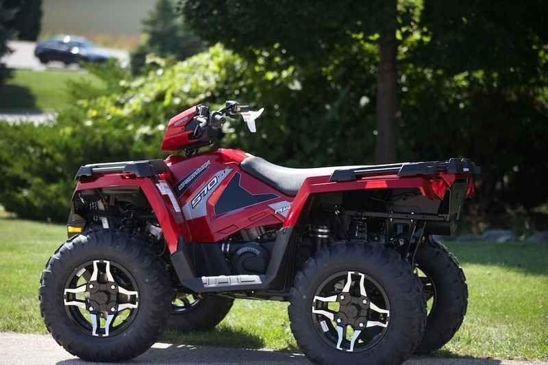 New 2016 Polaris Sportsman 570 Sp Eps Sunset Red Atvs For Sale In Wisconsin Atv Sportsman Eps