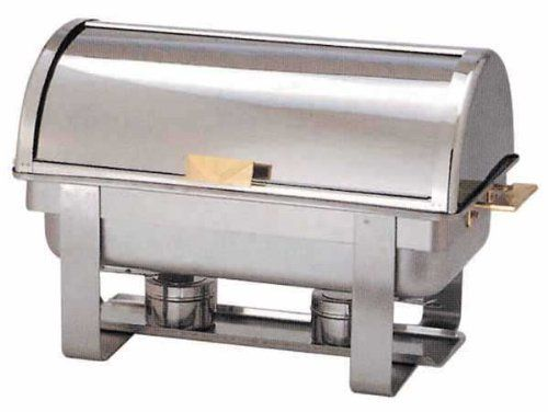 Chafing Dish Set Winco Full Size Roll Top Chafer