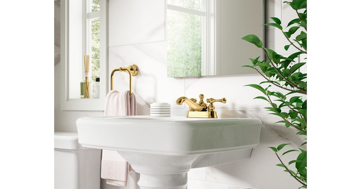 Complementing traditional bathrooms with elegant, classic design ...