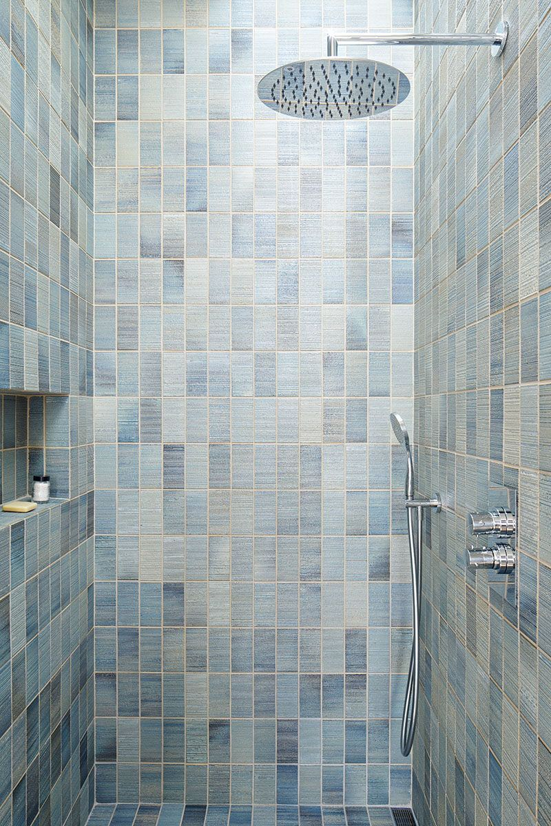 12 Ideas For Including Built-In Shelving In Your Shower // The built ...