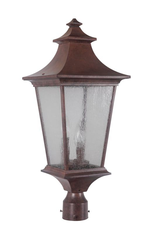 Craftmade Z1375 Outdoor Post Lights Lamp Post Lights Outdoor Lighting