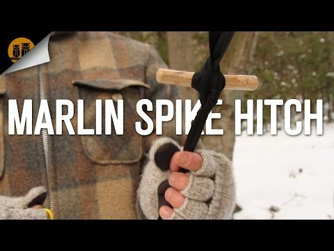 How to Tie a Marlin Spike Hitch - YouTube