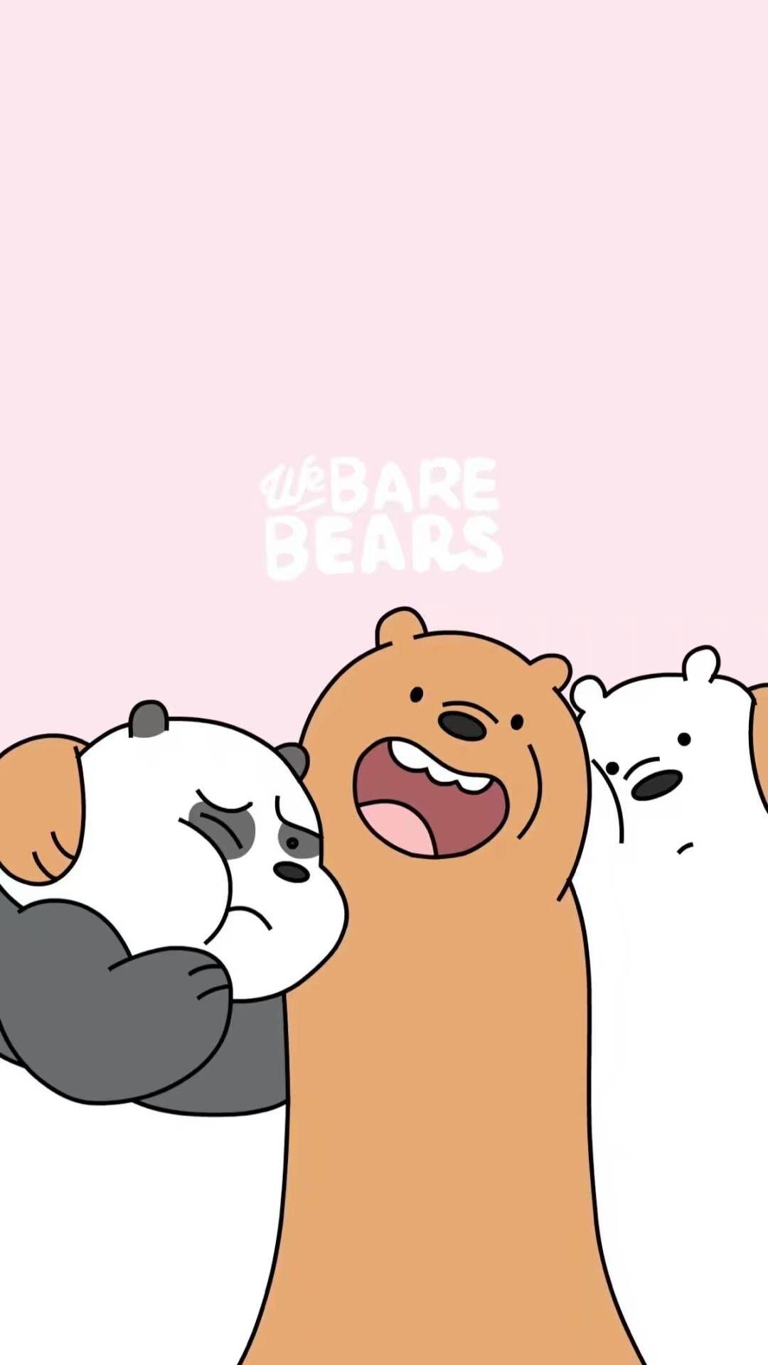 We Bare Bears Anak Binatang Boneka Hewan Gambar Hewan Lucu