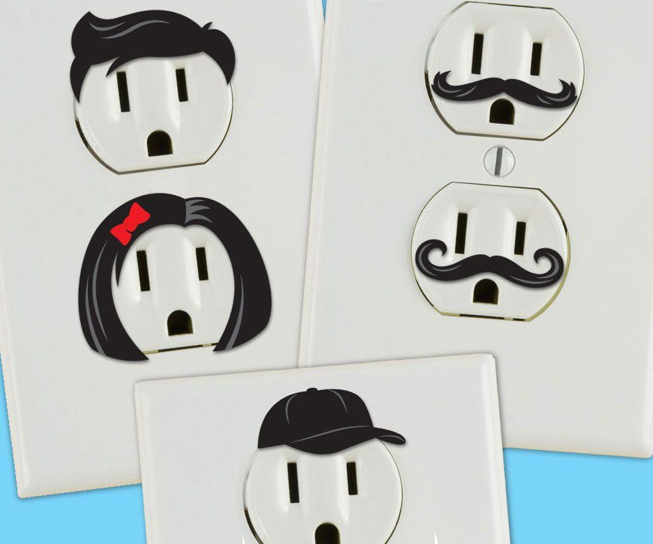 How To Make Diy Creative Electrical Outlet Covers Creative Outlet Wall Outlets Creative