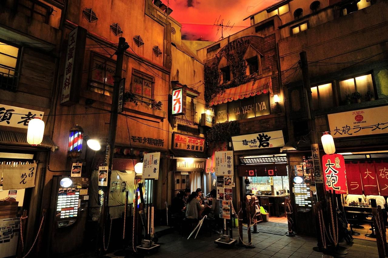 Ramen Museum (With images) Japanese temple, Anime city