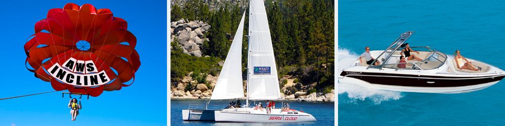 Lake tahoe boat rentals charters jet skiing kayaks