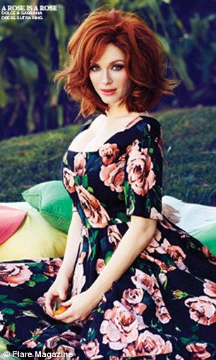 'I've been rejected a million times': Christina Hendricks the queen of curves on her struggle to make it in Hollywood #hollywoodmen