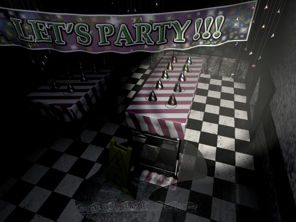 Party Room 2 Is A Location In Five Nights At Freddy S 2 Within