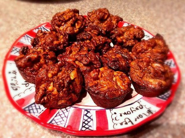 レシピとお料理がひらめくSnapDish - 1件のもぐもぐ - Pecans mini muffin by Sophie