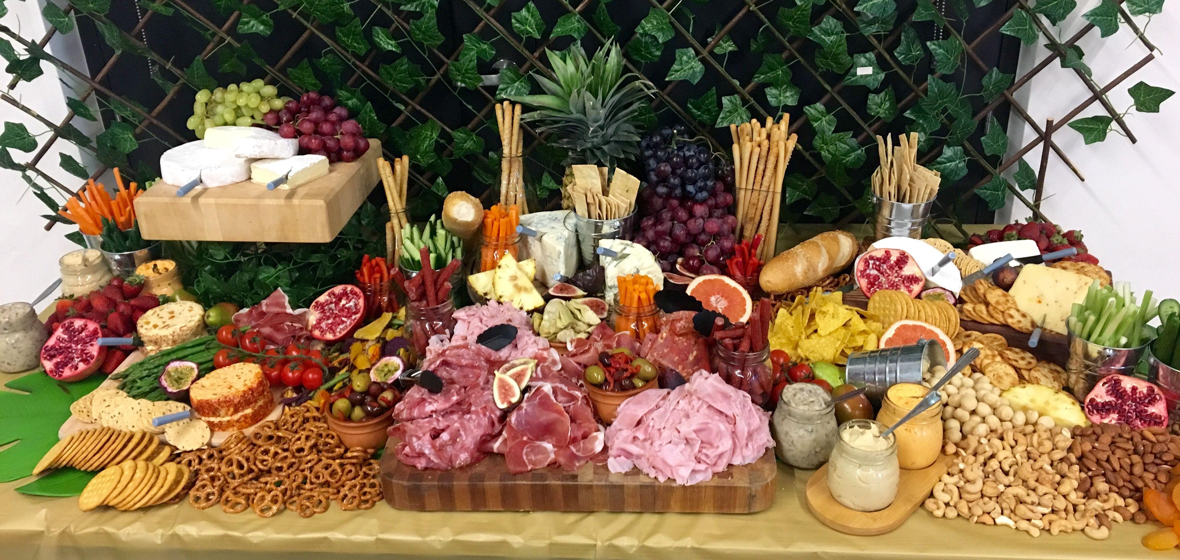 Grazing Tables - Sweet or Savory - Fresh Food Friday
