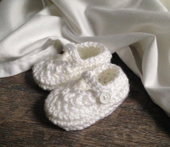 Baby Girl Dedication Shoes, Christening