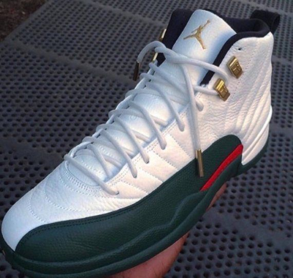 the latest dfc0c d3aab Gucci 12 Custom Gucci Jordans, Nike Air Jordans, Sneaker Games, Custom  Shoes,