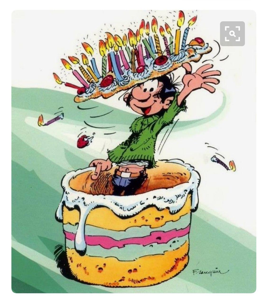 Gratuit Dessin Humoristique Gateau Anniversaire | HumourLa