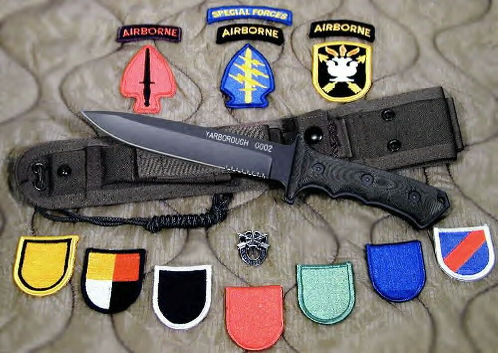 Yarborough Knife Google Search Army Green Beret Knife Special Forces
