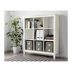 Ikea TomnÄs Shelving Unit White Keep Your Favorite Items Visible On The Open Shelves And Hide Away Everything Else In Bo Or Baskets