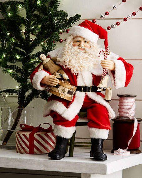 Bethany Lowe A Visit From Santa Claus | Santa claus ...