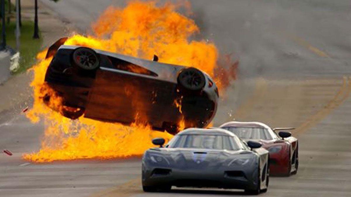 Supercar Fails Dizzy Dozen Car Crash Cars Movie Super Cars