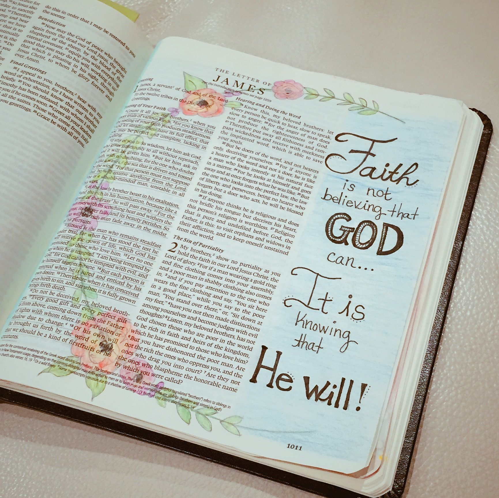 Bible Journaling by Laura McCollough www.akissonthechic ...