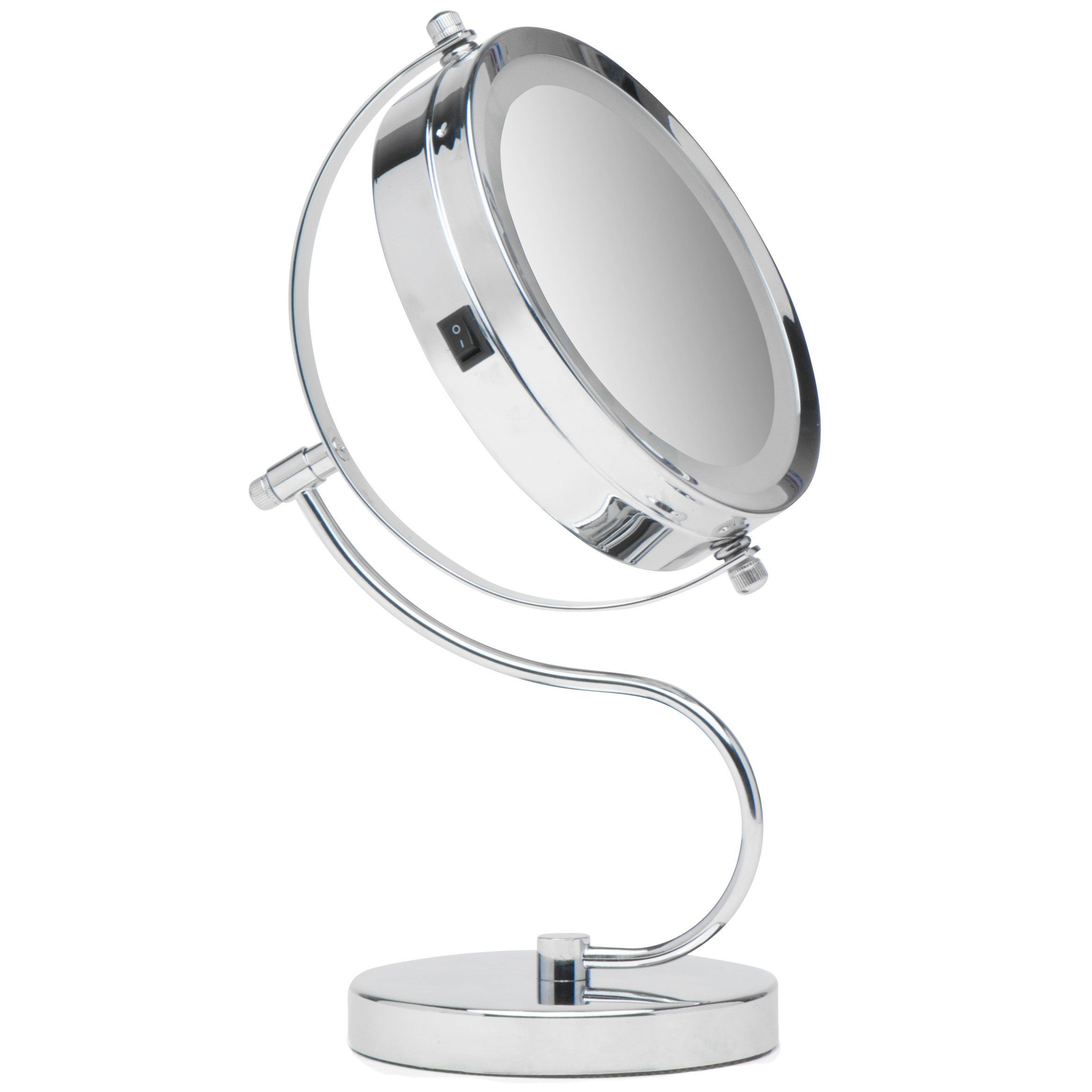 lighting impressions white hollywood pro products lighted mirror studio makeup vanity lit