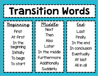 conclusion transitions for speeches