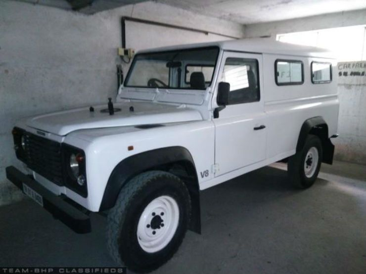 This Gorgeous Land Rover Defender 110 Is Cheaper Than A Jeep Compass Automobile News Land Rover Defender 110 Land Rover Defender Jeep Compass
