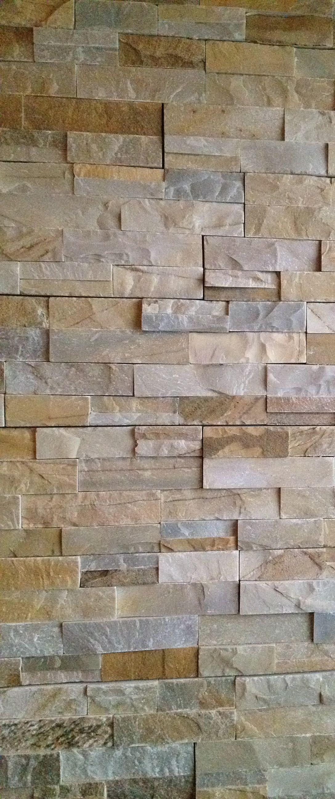 Desert quartz ledgestone natural stone wall tile x