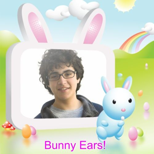 They gave me bunny ears in the photo! Become part of this awesome ...