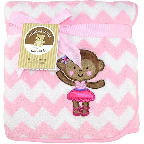 Walmart Swaddle Blankets Child Of Minecarter's Ballerina Monkey 2Ply Embroidered Fluffy