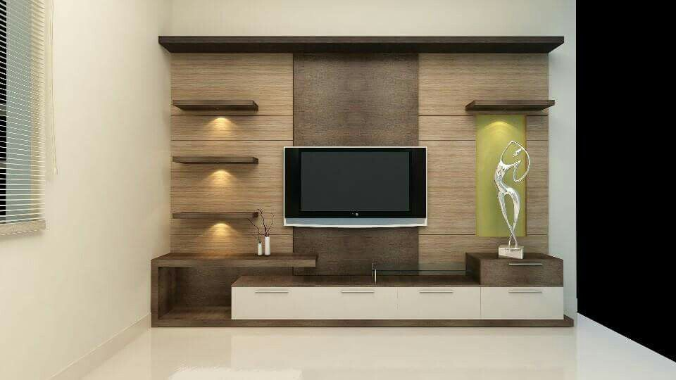 Pin by Mahitha on home   Living room tv unit designs ...