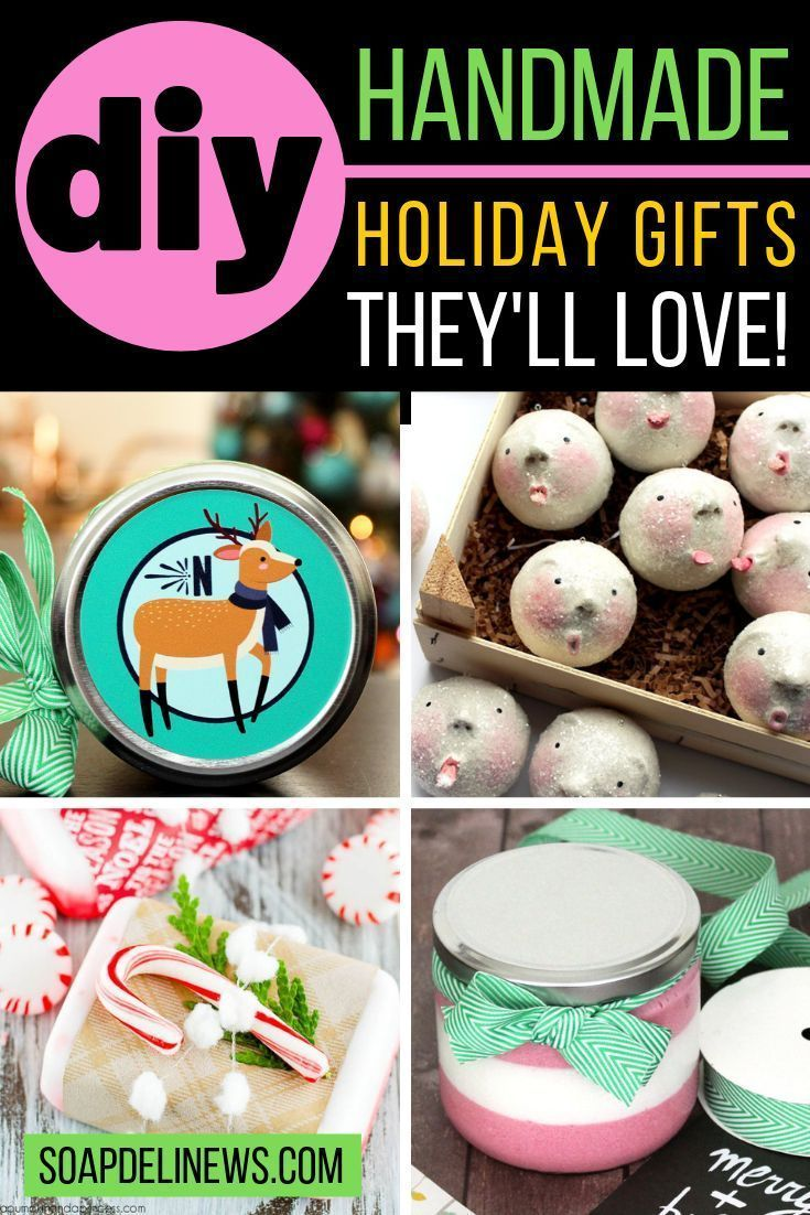 35 DIY Holiday Gifts That Look Store Bought But Aren't - Soap Deli News