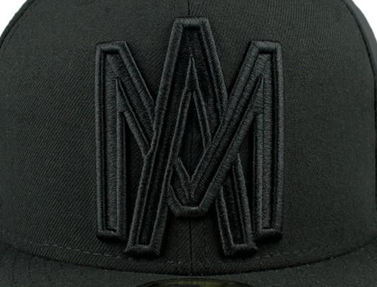696427be Tonal Black Aguilas 59Fifty Fitted Cap by NEW ERA | mis caballeros ...