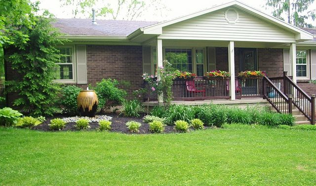 Ranch Front Yard Landscaping Landscape Ideas Front Yard Ranch