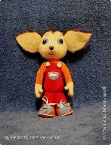 Игрушка Вязание крючком Вязанная игрушка Малыш Барбоскин описание Пряжа фото 1