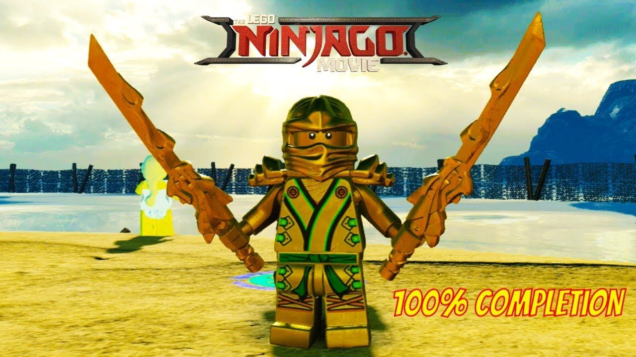 The Lego Ninjago Movie Video Game Gold Ninja Unlock Location Free Roam Lego Ninjago Movie Ninjago Lego Ninjago