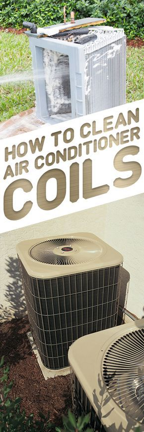 How to Clean AC Coils | Clean air conditioner. House cleaning tips. Diy home repair