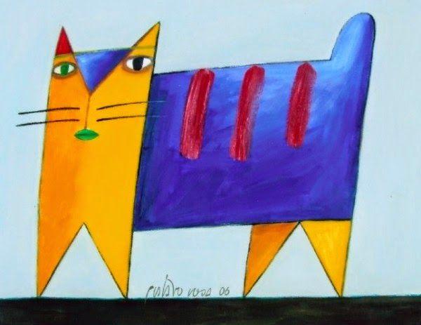 Gustavo Rosa Arte Com Gatos Arte Com Retalhos Producao De Arte