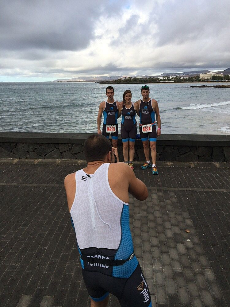 #photos #teams #triathlon Bioibérica at #OceanLava (Arrecife, Canarias Islands). #HawaiiChallenge!