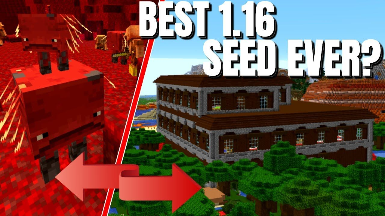 The BEST Minecraft Seeds for the 8.86 nether Update - Could THIS