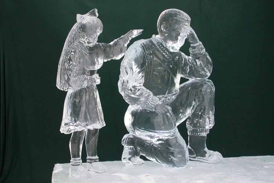 ice sculptures | Ice sculpture competition, Fairbanks 2004