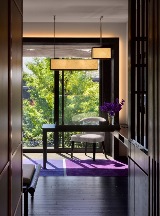 Guestroom With A Temple View At The Four Seasons Kyoto By HBA Design