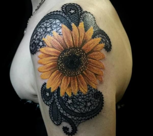 Photo of Meaning of SUNFLOWER TATTOO