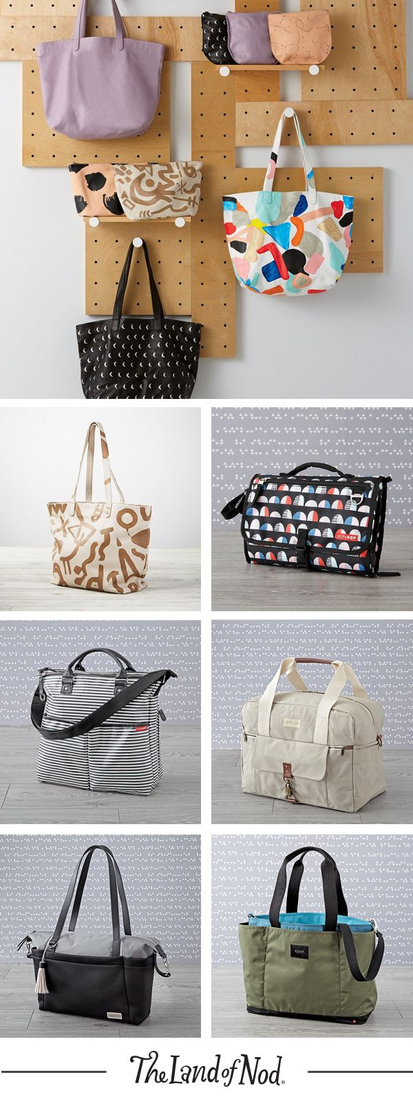 Contain the mayhem of baby essentials on the go with a stylish and ...