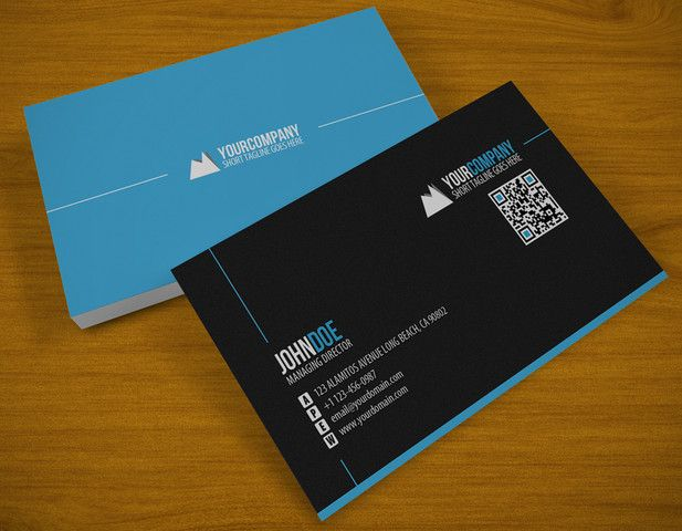 Business Cards Alignment Graphic Design Business Card