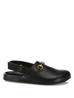 3acb000deff GUCCI River Leather Clogs.  gucci  shoes  clogs